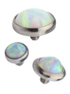 Synthetic Opal Tops
